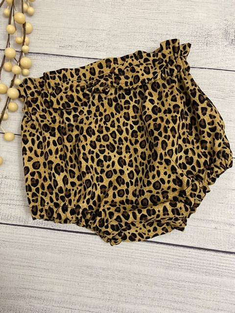 Bummie, Bloomers or Diaper Cover - Fall Modern Girl - Brown with Black-#BUM285