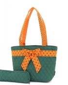 Lunch Bag - Orange and Green-#LB145