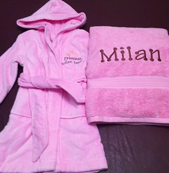 Robe - Terry Cover Up - Kids Spa Fun Day
