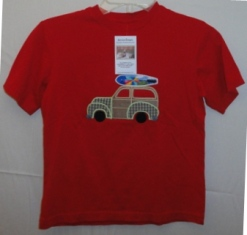 Tshirt - Red Surfer