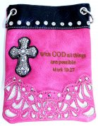 Bible Collection - Small Hipster Cross Body Pink Bag