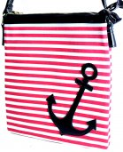 Preppy Nautical Anchor Collection - Hipster - Red and White